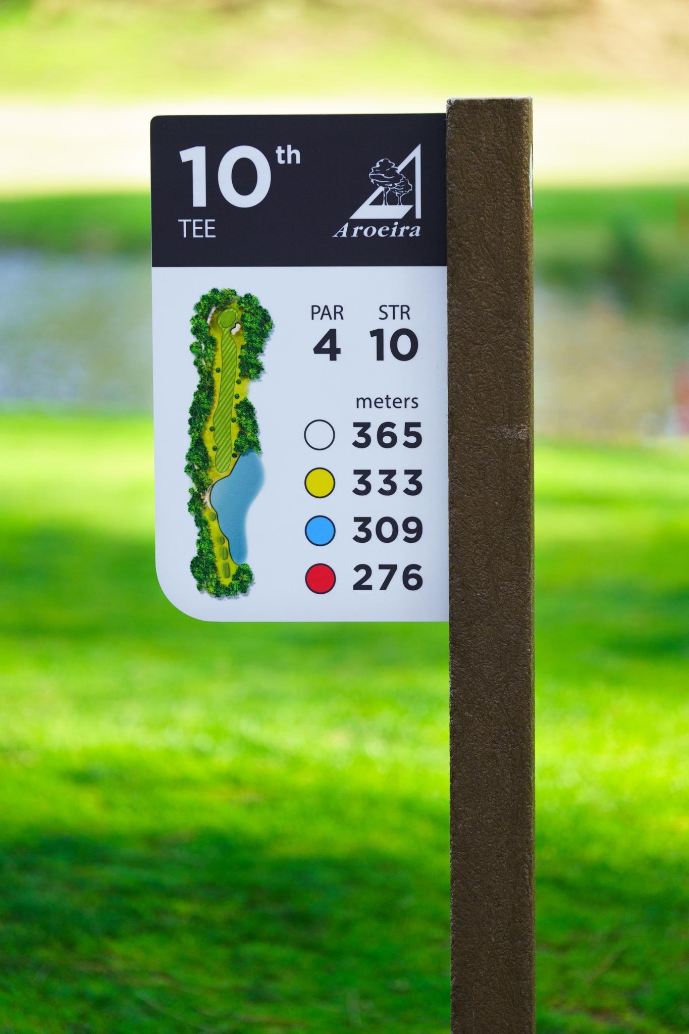 Signage golf
