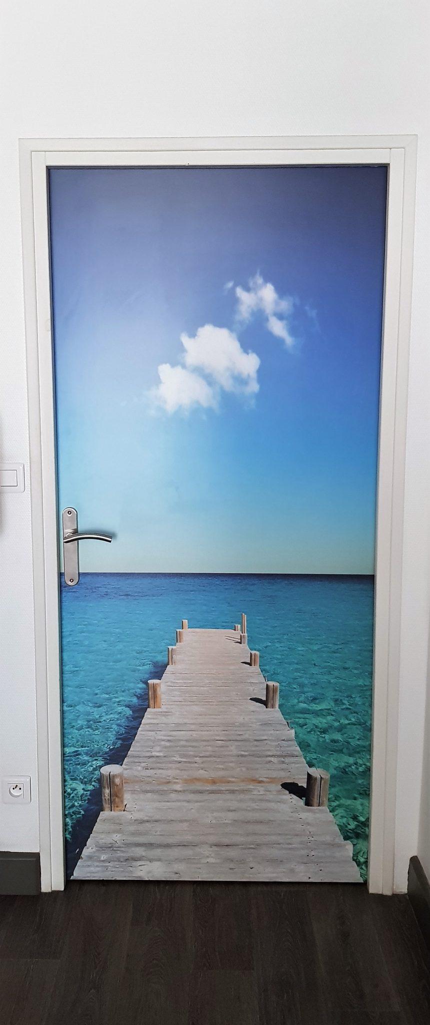 Plated HPL door