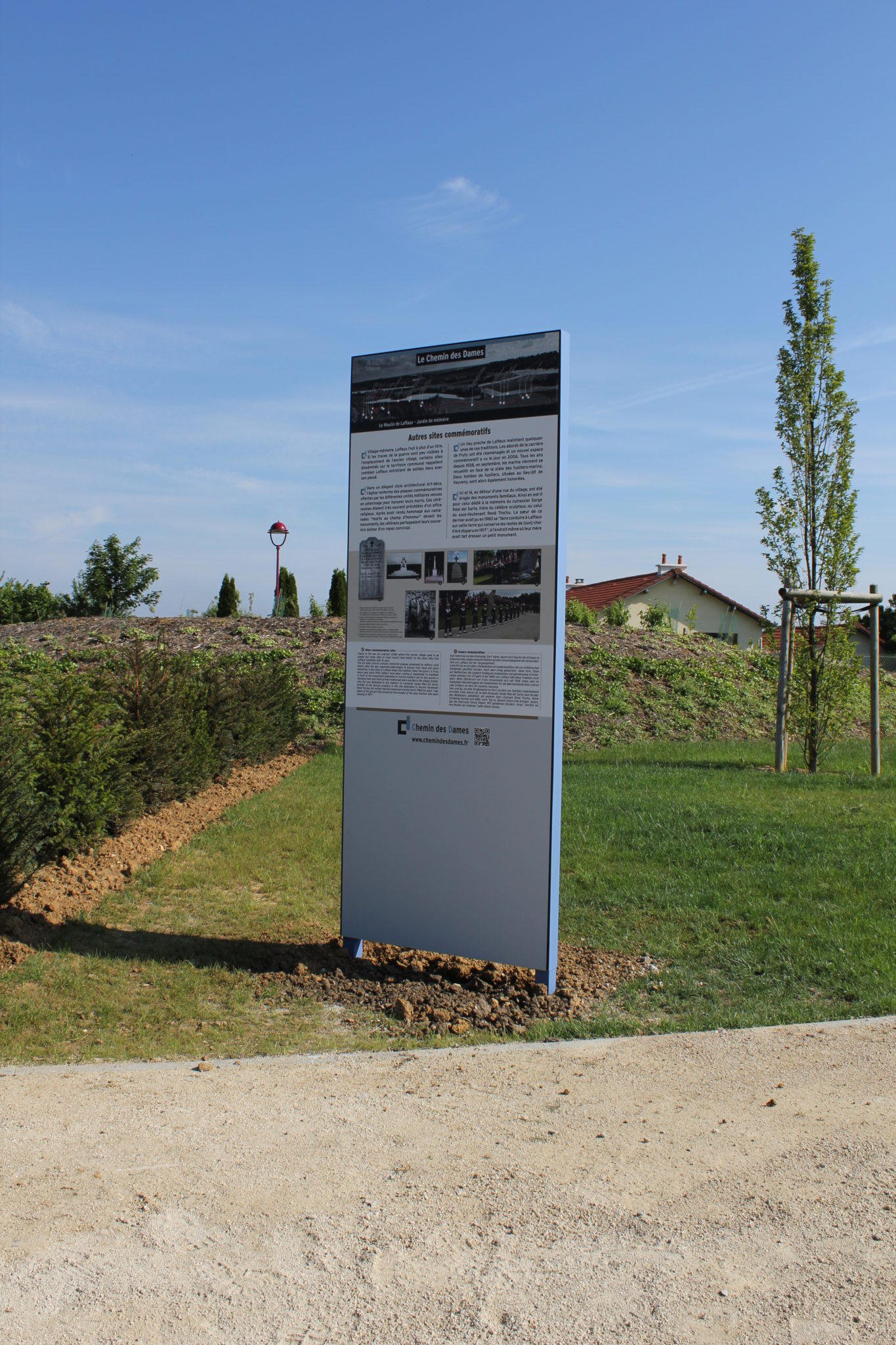 Interpretation Signage HPL by ATELIER GOMBEAUD
