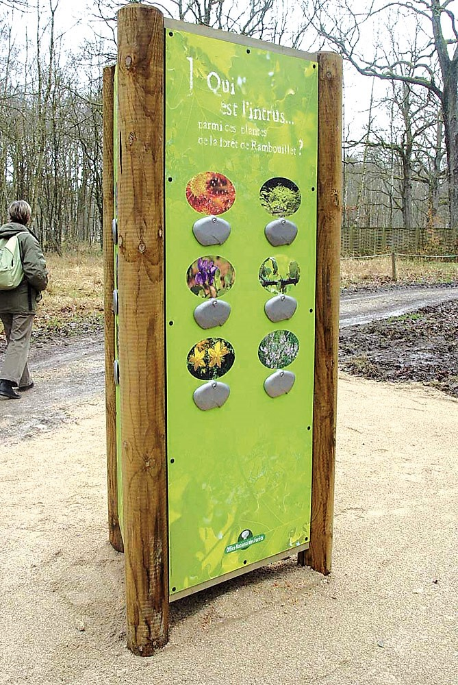 Leisure and recreational signage panel