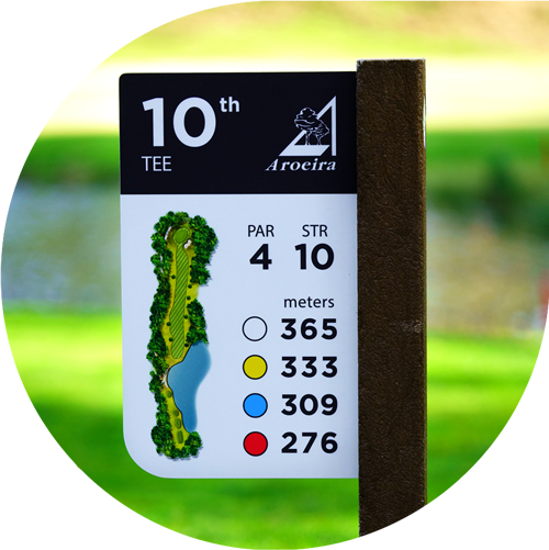 Panneau-golf-stratifié